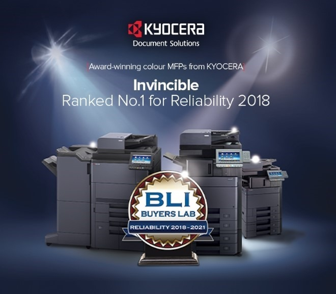 KJL Document Solutions |KYOCERA – Ranked #1 for Reliability